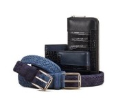 MAN BELT AND WALLET