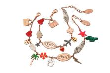 tod's bracelet colorfull charms